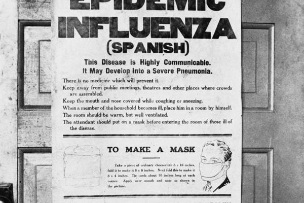 Das Grippegespenst und vergiftete Zigaretten – Was wir heute von der Spanischen Grippe lernen können
